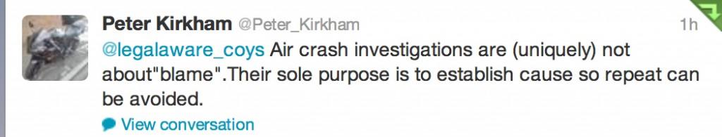 plane crash investigations