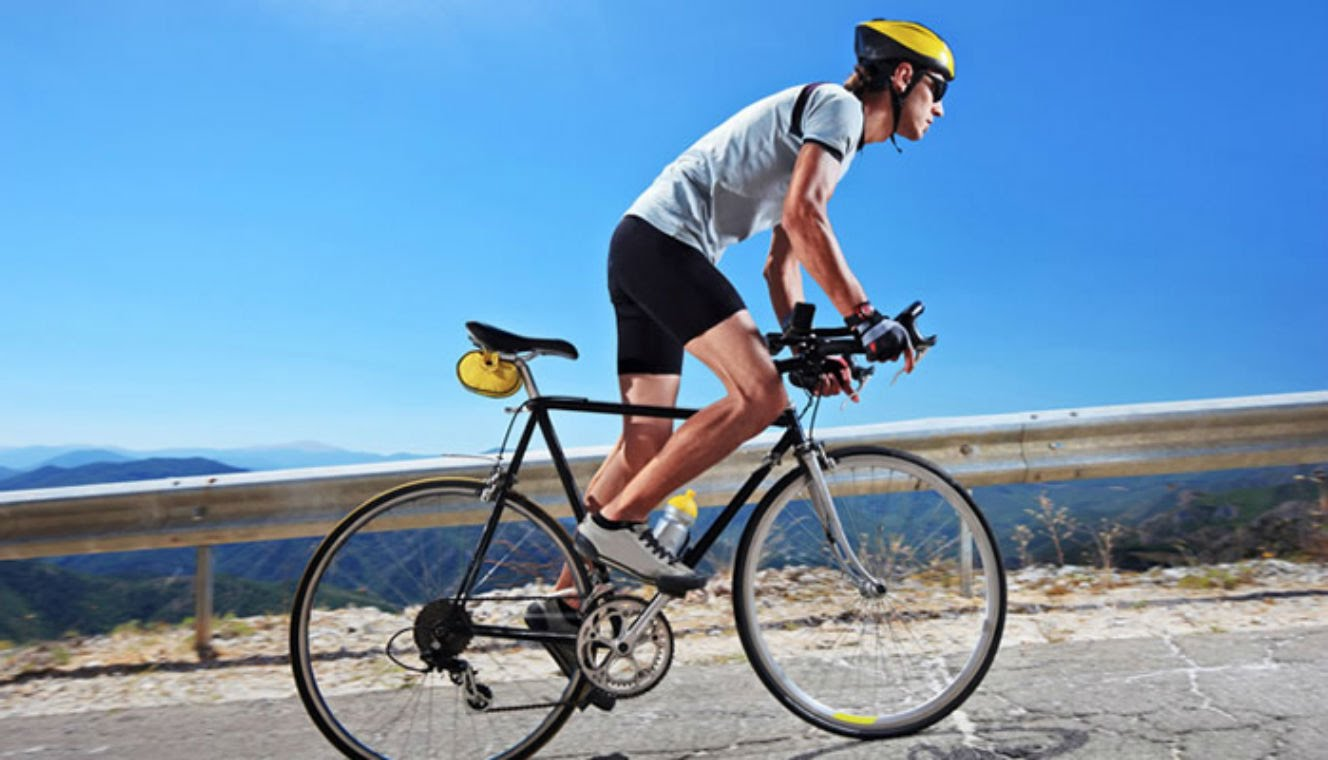 4 health benefits of riding a bicycle to and from work