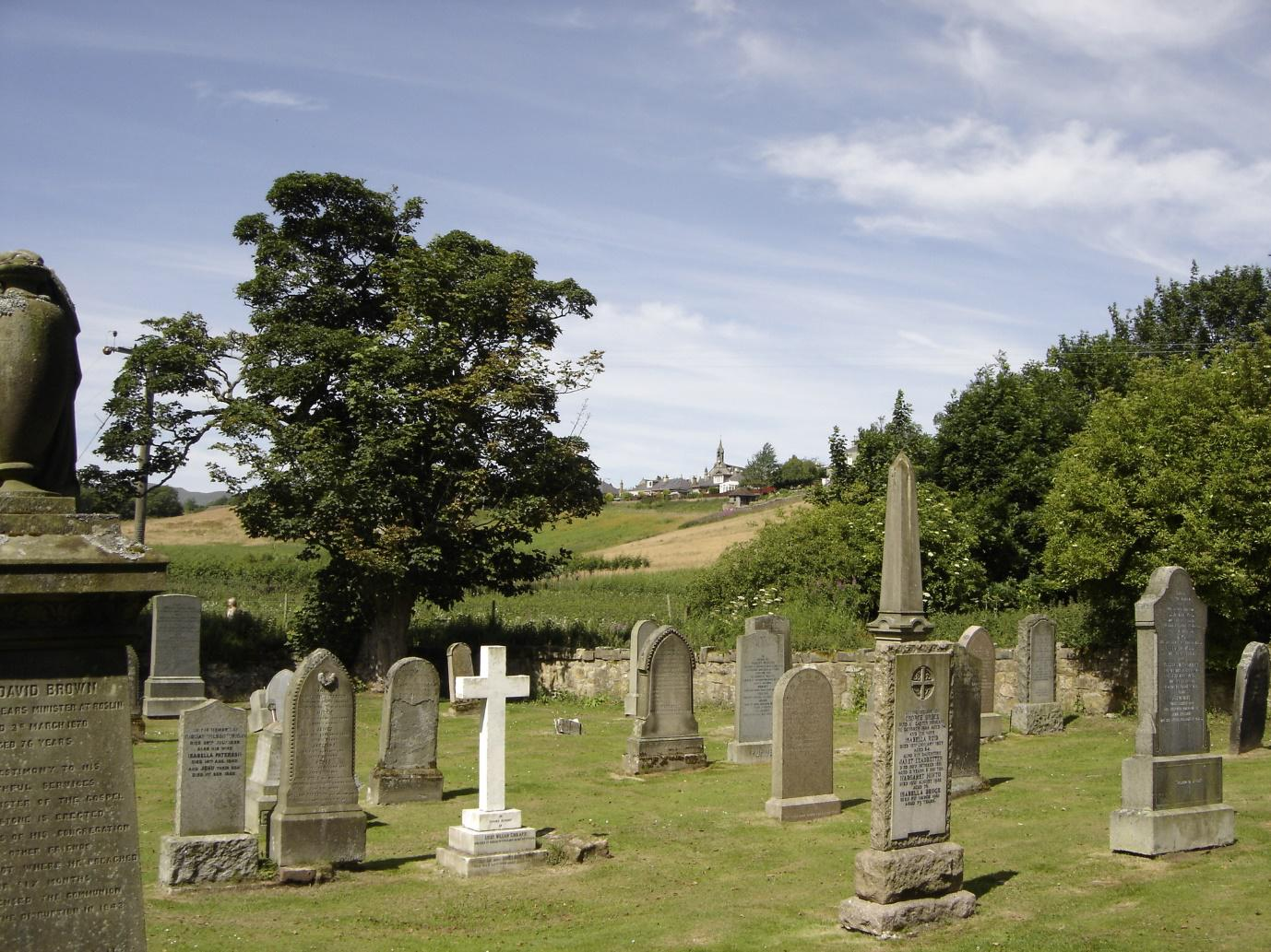 Graveyard – another home to return.